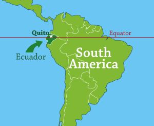 Journey To The Middle Of The World Grace Communion International - Map of ecuador world