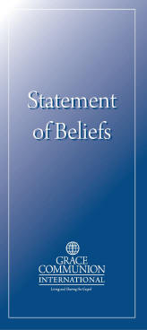 cover of GCI beliefs booklet