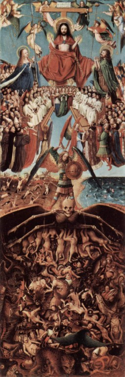 The Last Judgment, painting by van Eyck