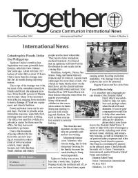 cover of the Nov-Dec 2009 issue of Together