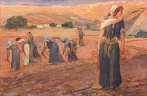 Ruth and other gleaners.