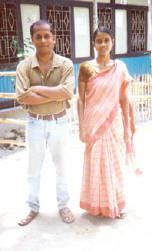 Ranjon Roy and his wife