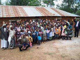 GCI Congregation in Uganda, Africa
