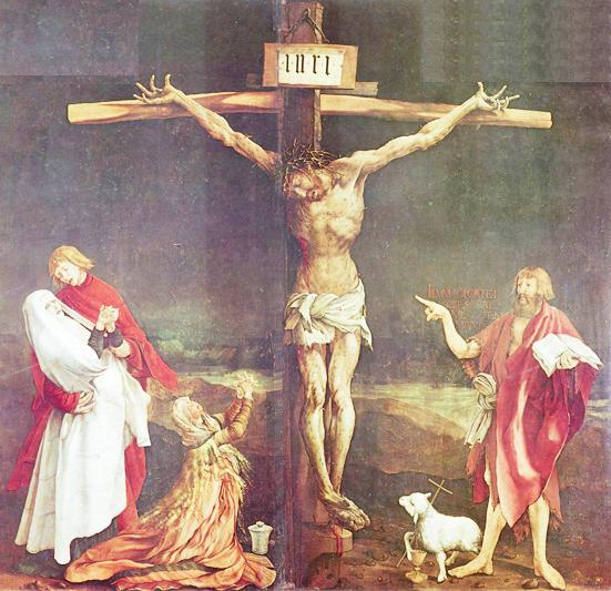 The Crucifixion, by Gruenewald