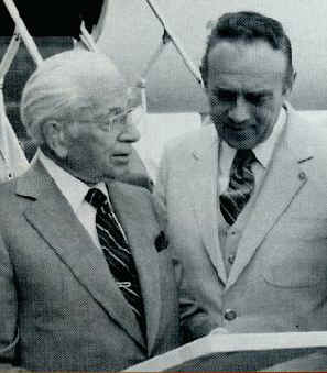 Herbert Armstrong with Joseph W
